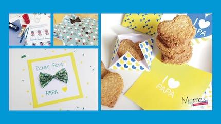 10 cadeaux à préparer avec les enfants pour la Fête des pères